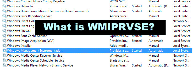 What is WMI Provider Host(WmiPrvSE.exe)?(Lucid Explanation)