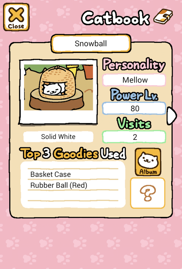 Neko Atsume Kitty Collector catbook
