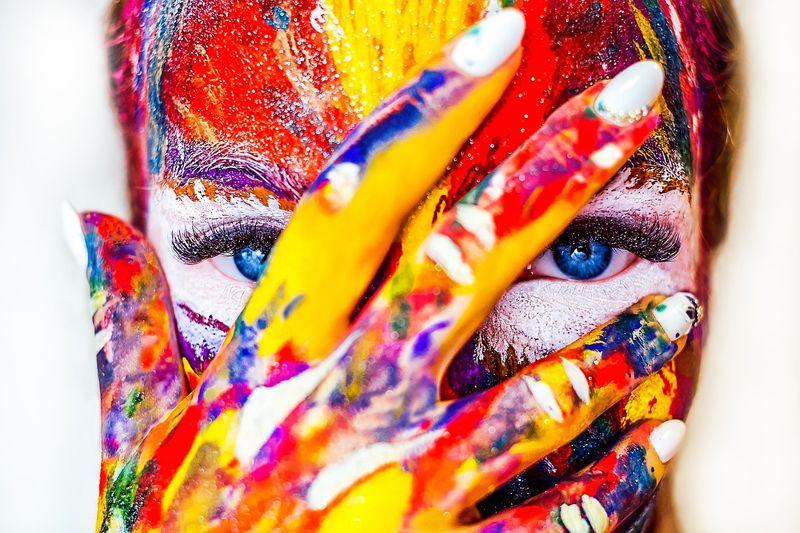 paint woman games