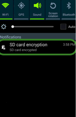 How to Encrypt Files on Your SD Card Using Your Android Phone 2