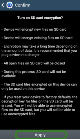 How to Encrypt Files on Your SD Card Using Your Android Phone 1