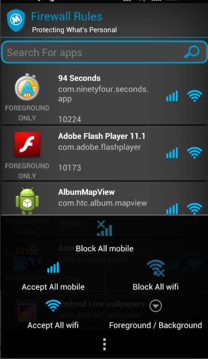 Best Firewall Apps for the Android 4
