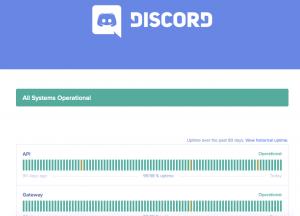 Discord Server Status