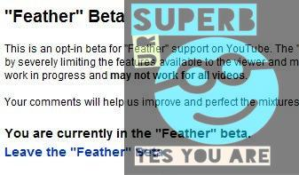How to Get Feather Beta for YouTube ? 4