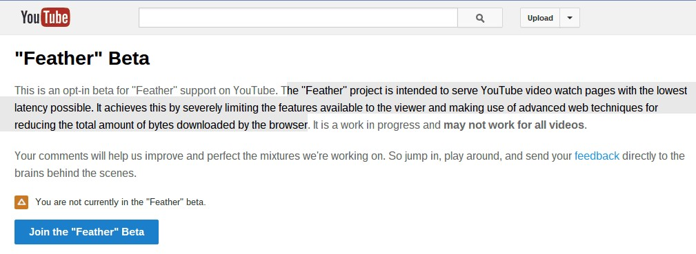 How to Get Feather Beta for YouTube ? 3