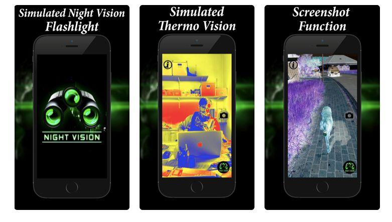 2 Night Vision Flashlight Thermo