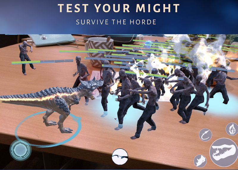 Genesis Augmented reality