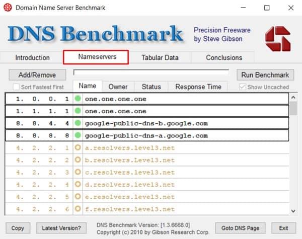 DRC Benchmarking Tool