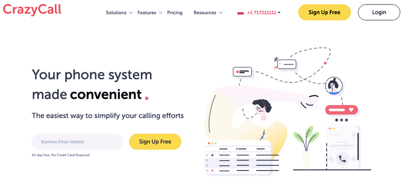 CrazyCall WebSite