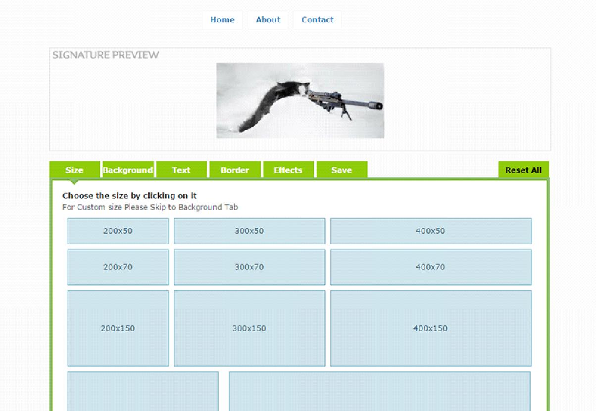 Best Online Forum Signature Generating Websites 2
