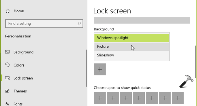 """How to fix Missing option """"Like what you see?"""" in Windows Spotlight ?"""