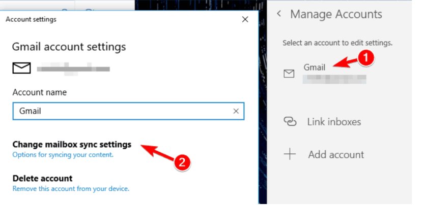 """How to Fix """"Windows 10 Mail App Not Syncing/working""""? 2"""