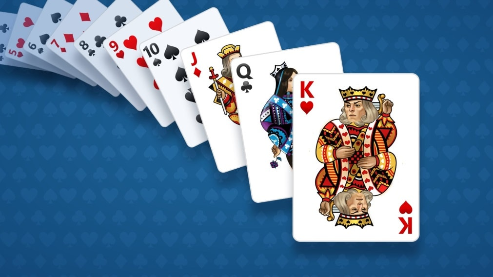 Image result for microsoft solitaire