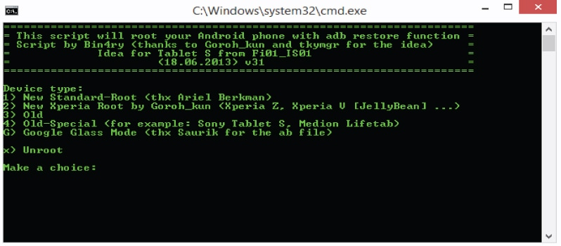 How to Root Android device using Bin4ry Rooting Tool