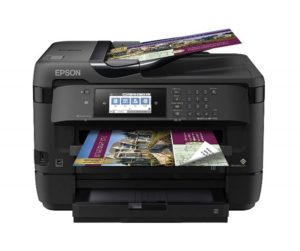 Epson Workforce Wf-7620 – Ink jet Printer